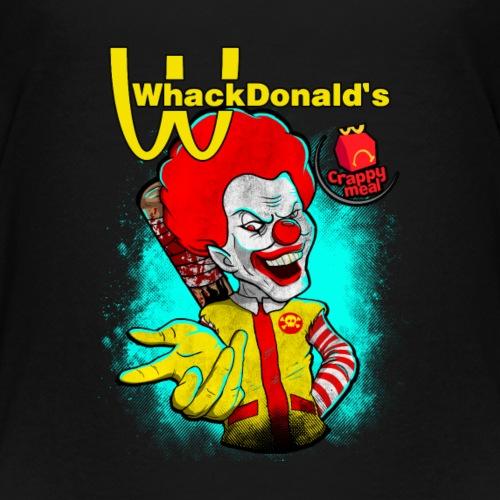 Ronald WhackDonald's Crappy Meal Funny Shirt - Kids' Premium T-Shirt