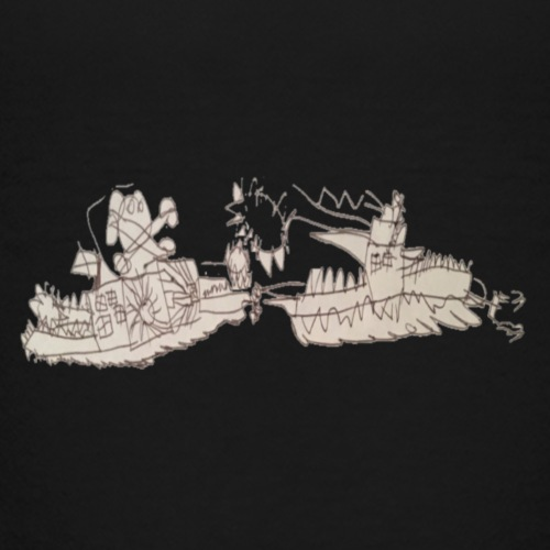 Kids battleship - Kids' Premium T-Shirt