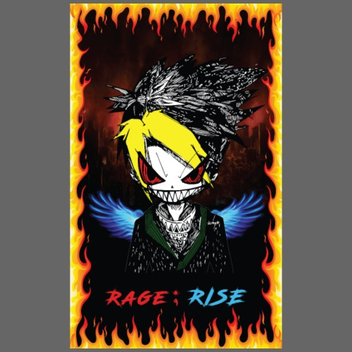 Rage ; Rise - Kids' Premium T-Shirt