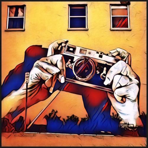 Graffiti Wall Art Concept Design - Kids' Premium T-Shirt