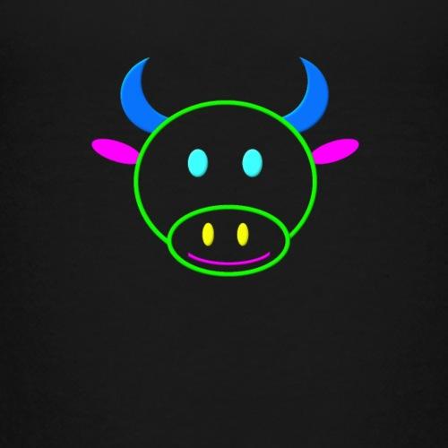 Coloured cow - Kids' Premium T-Shirt