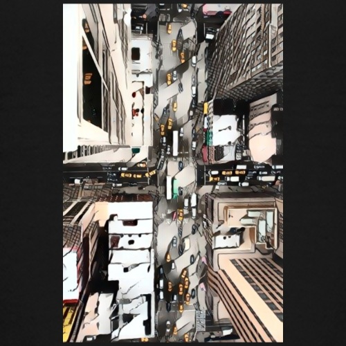 Street Intersection-Birdseye view - Kids' Premium T-Shirt