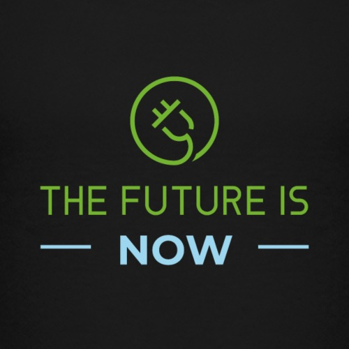 The Future is Now UPDATED TEE w/CT logo - Kids' Premium T-Shirt