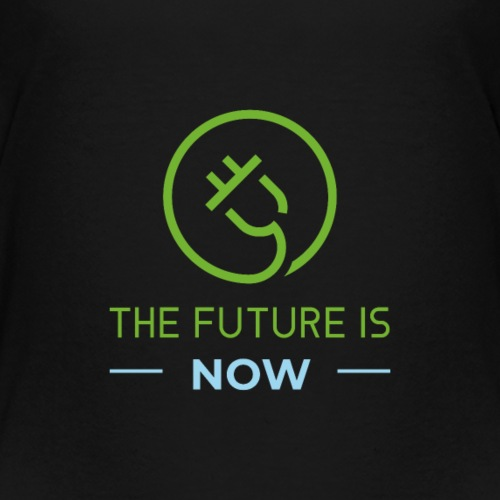 The Future is now with CT logo (second edition) - Kids' Premium T-Shirt