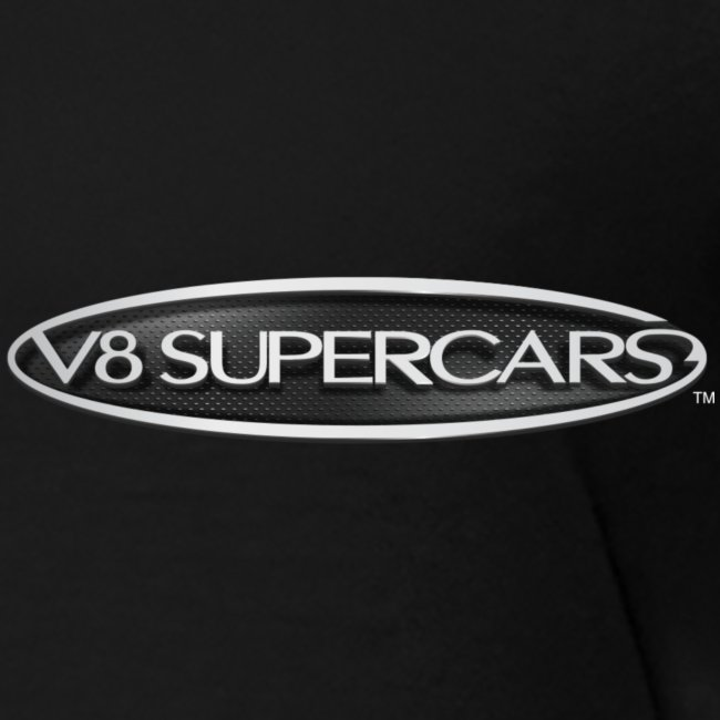 v8 supercars logo silver png