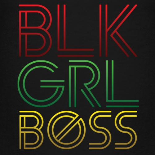 BLK GIRL BOSS - Kids' Premium T-Shirt
