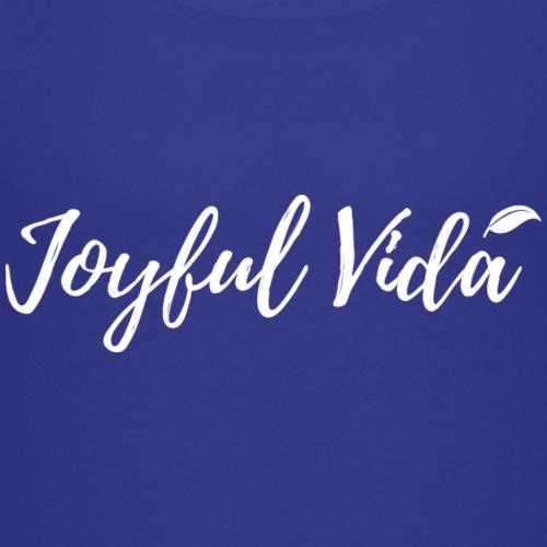 Joyful Vida Team logo (White) - Kids' Premium T-Shirt