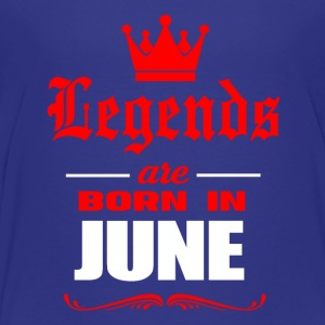 Legends Are Born In June - Kids' Premium T-Shirt