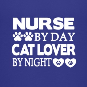 Nurse By Day Cat Lover By Night T Shirt - Kids' Premium T-Shirt
