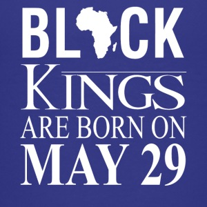 Black kings born on May 29 - Kids' Premium T-Shirt