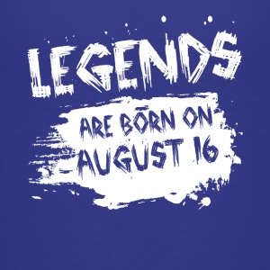 Legends are born on August 16 - Kids' Premium T-Shirt
