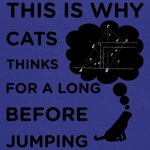 That s why the cat thinks for a long time before j - Kids' Premium T-Shirt