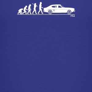 Evolution of Man Ford Capri Mk1 - Kids' Premium T-Shirt