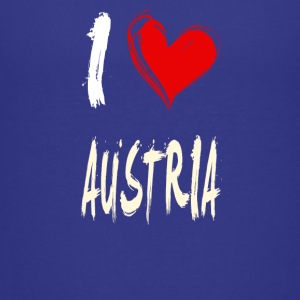 I love AUSTRIA - Kids' Premium T-Shirt