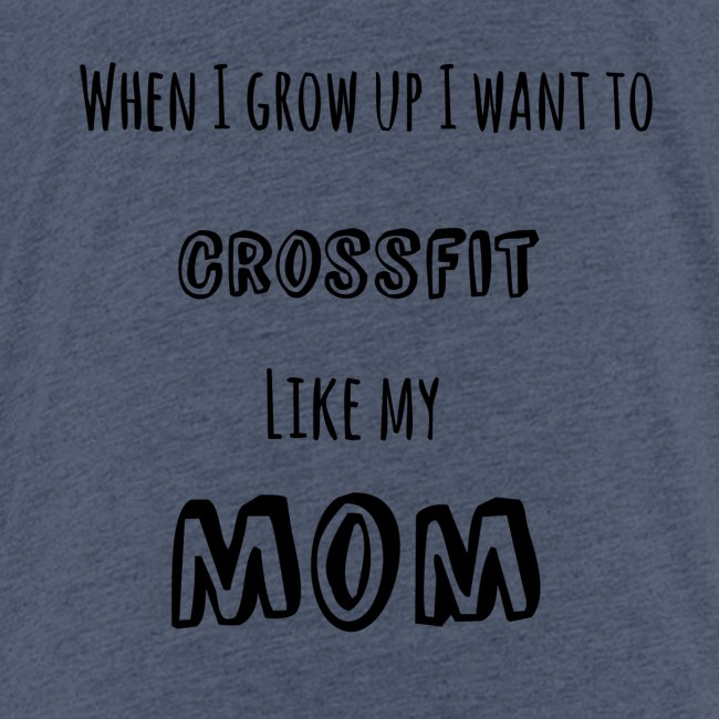 crossfit like mom (black)