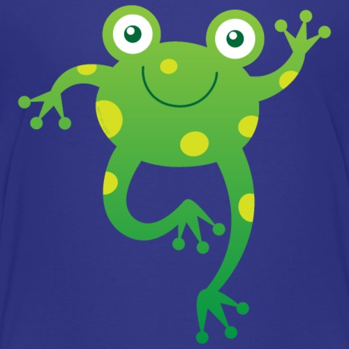 Smiling Little Frog - Kids' Premium T-Shirt