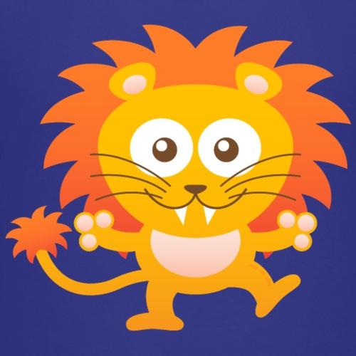 Smiling Cute Lion - Kids' Premium T-Shirt