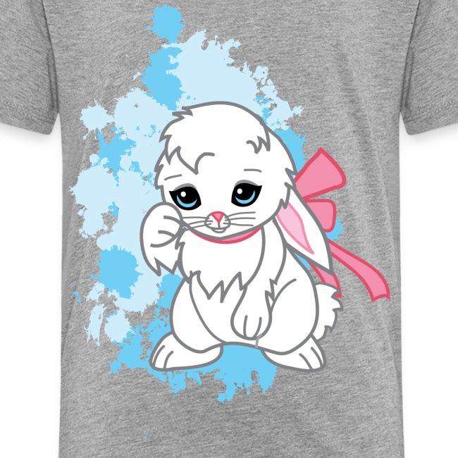 Adorable Kawaii Snowball the Bunny Women's Tee