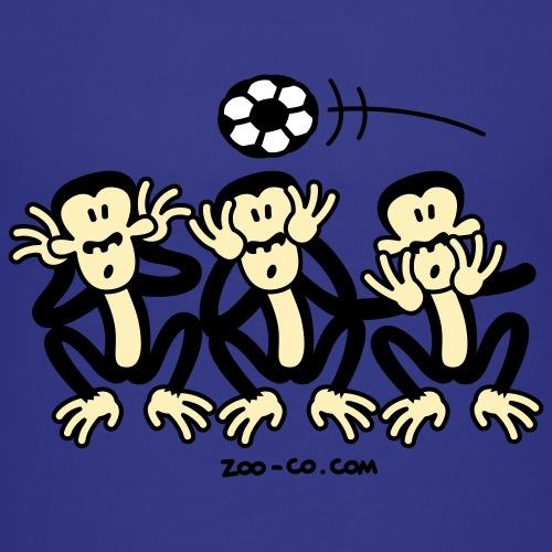 Three Wise Soccer Monkeys - Kids' Premium T-Shirt
