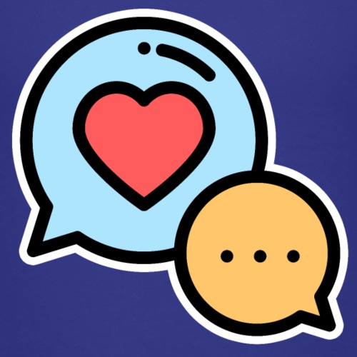 LOVE CHAT - Kids' Premium T-Shirt