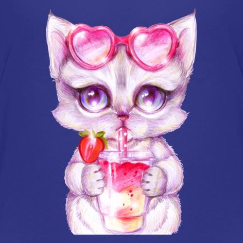 Summer Kitty - Kids' Premium T-Shirt