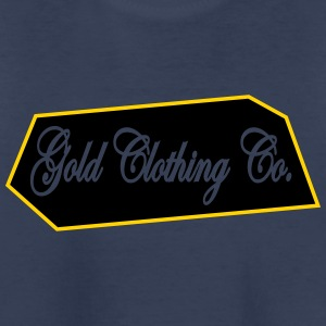 GOLD Clothing Co. Brick Logo - Kids' Premium T-Shirt