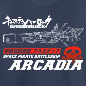 Captain Harlock Space Battleship Arcadia - Kids' Premium T-Shirt