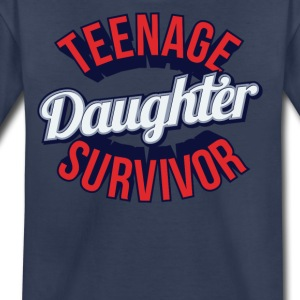 Teenage Daughter Survivor - Kids' Premium T-Shirt