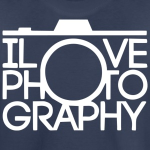 I love Photography - Kids' Premium T-Shirt