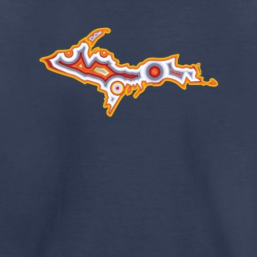 Michigan Upper Peninsula Agate - Kids' Premium T-Shirt