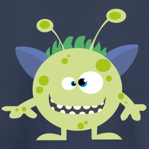 Little Monster UFO ALIEN - Kids' Premium T-Shirt