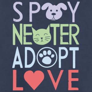 adopt a pet - don't shop - Kids' Premium T-Shirt