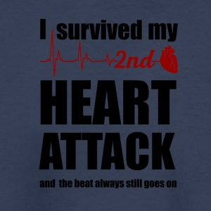 I survived my second Heart Attack - Kids' Premium T-Shirt