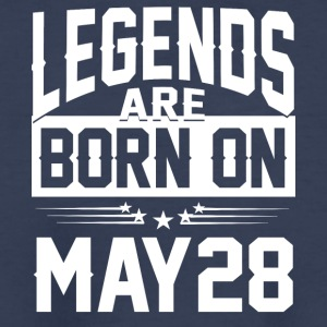 Legends are born on May 28 - Kids' Premium T-Shirt