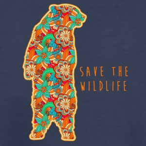 SAVE THE WILDLIFE- BEAR - Kids' Premium T-Shirt
