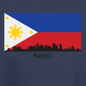 Pasig Philippines Skyline Filipino Flag - Kids' Premium T-Shirt