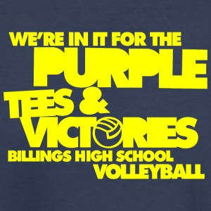 We re In It For The Purple Tees Victories Billin - Kids' Premium T-Shirt