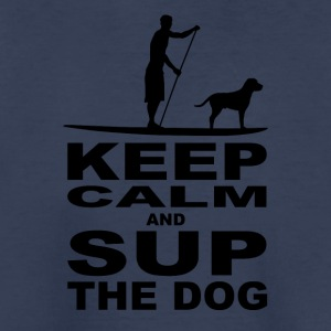 KEEP CALM and SUP the DOG - MEN Edition - Kids' Premium T-Shirt