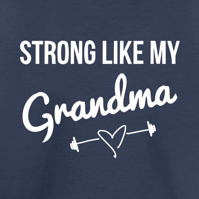 strong like grandma (white)