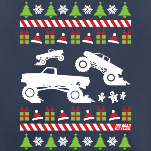 Mud Truck Ugly Christmas - Kids' Premium T-Shirt