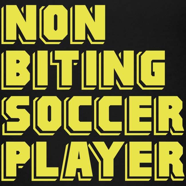 Non-Biting Soccer Player