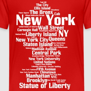 New York City (NY, NYC) - Kids' Premium T-Shirt