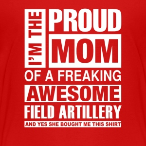 I'm the pround mom of a freaking awesome - Kids' Premium T-Shirt