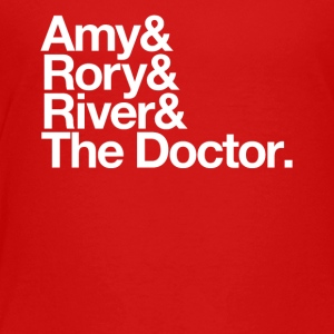 Amy & Rory & River & The Doctor. - Kids' Premium T-Shirt