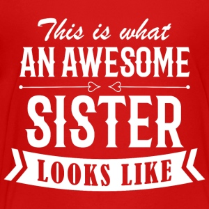 Awesome Sister - Kids' Premium T-Shirt
