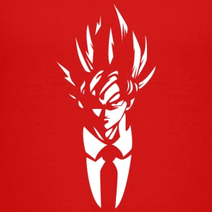 super saiyan Mr goku t shirt - Kids' Premium T-Shirt