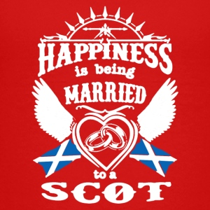 MARRIED TO A SCOT TEE SHIRT - Kids' Premium T-Shirt