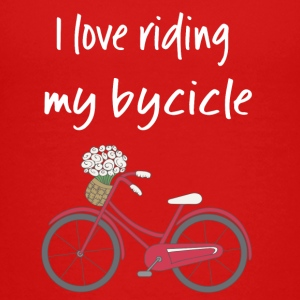 I love riding my bycicle - Kids' Premium T-Shirt