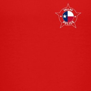 Dallas Police T Shirt - Texas flag - Kids' Premium T-Shirt