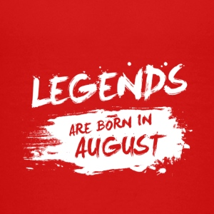 Legends are born in August - Kids' Premium T-Shirt